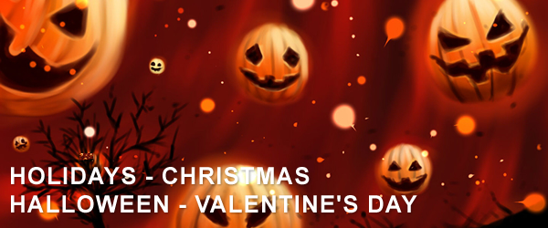 Royalty-Free Music: Holidays - Christmas - Halloween - Valentine's Day